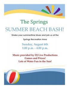 Summer Beach Bash